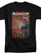 DC Comics The Man with two faces Carnival of Criminals retro Tee BM2186 image 3