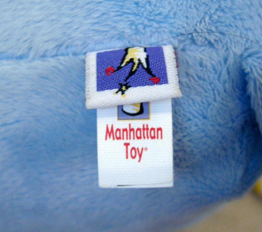"Manhattan Toy Peek Squeak Plush Activity Puppy Dog 12"" Teether Rattle image 6"