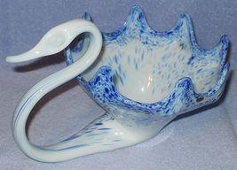 Italian Mid Century Vintage Murano Art Glass Swan #2 - $24.95