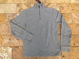 $185 Polo Ralph Lauren Men's French Terry Mockneck Pullover, Steel Heat, XL. - $98.99