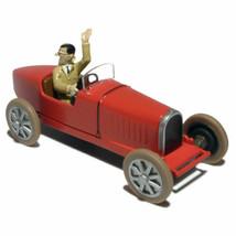 BUGATTI RACE CAR VOITURE TINTIN CARS TINTIN IN AMERICA EDITIONS ATLAS 1/43 NEW image 2