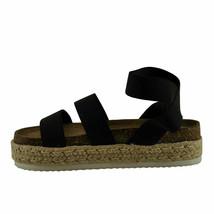 Pierre Dumas MESA-4 Black Women's Platform Wedge Espadrille Sandal 25579 - $38.95