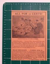 1889 Incalls' Home Magazine Advertisement Lynn, Mass. - $25.00