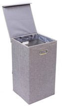 BirdRock Home Single Laundry Hamper with Lid an... - $41.01
