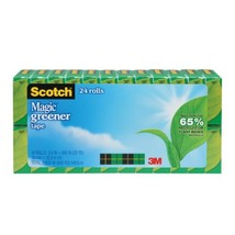 Scotch Magic Greener Tape, 3/4 x 900 Inches, Boxed, 24 Rolls 812-24P - €49,85 EUR
