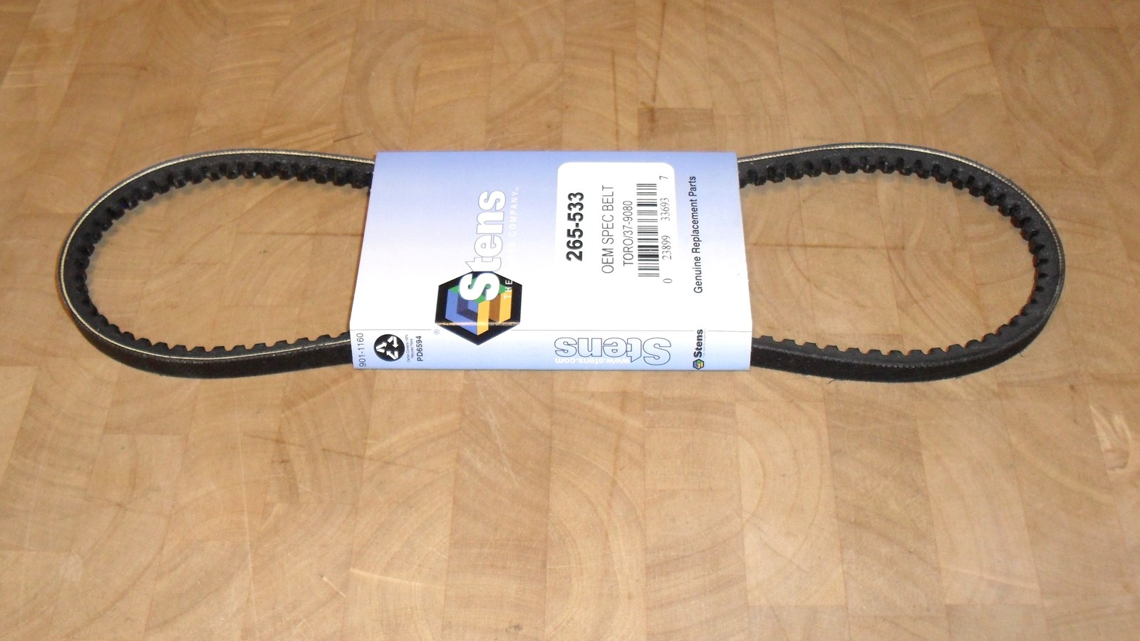 Auger Drive Belt fits Toro 3521, 421, 521 and 522 snowthrower 37-9080, 379080 image 2