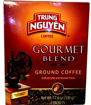 Trung Nguyen Gourmet Blend Ground coffee 17.6 oz ( Pack of 4 ) - $36.45
