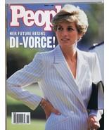 ORIGINAL Vintage March 11 1996 Magazine Princess Diana Divorce - $37.18