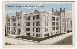 Oklahoma City High School OK 1916 postcard - $5.94