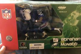 McFarlane Sports Picks - Michael Strahan VS Donovan McNabb - Deluxe NFL ... - $24.75