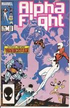 Marvel Alpha Flight #32 Vindication Mutant Mystery Drama Action - $2.95