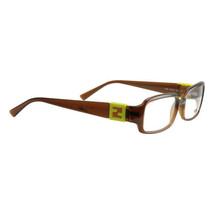 Fendi Women's Eyeglasses Frames FE 880 207 Brown 54 15 135 Full Rim - $29.64