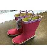 Cat & Jack waterproof girls boots size 12 - $10.80