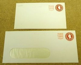 USPS Scott U537 2c Envelope Washington Lot of 2 Red - $11.35