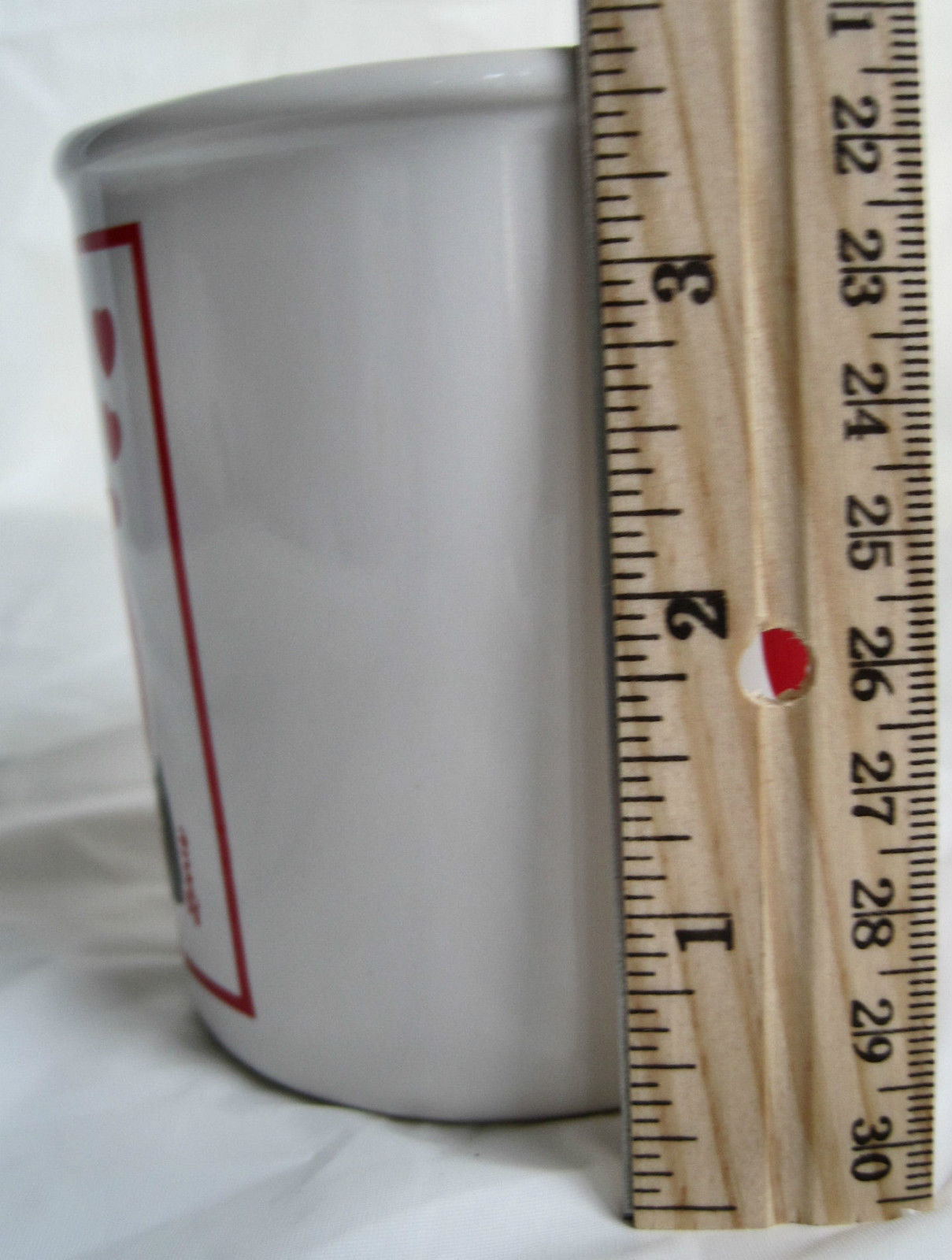Scottie Terrier Valentine Mug  I Love Grandpa Coffee Tea Cocoa Cup Container