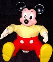 "Mickey Mouse Plush Toy Stuffed Character Doll 6"" BEST OFFERS WELCOMED MA... - $7.59"