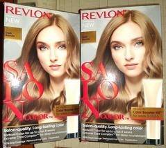 Lot of 2 Boxes Revlon Salon Color 7 Dark Blonde Booster Kit - FREE SHIP!!! - $20.75