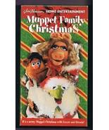 Muppet Family Christmas (1998) VINTAGE VHS Cassette Sesame Street Crosso... - $59.39