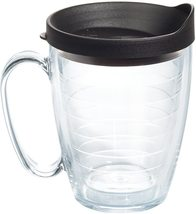 Tervis Clear & Colorful Mug Insulated Tumbler with Black Lid, 16 oz Trit... - $17.00