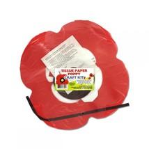 Tissue Paper Poppy Craft Kit AR219 - $42.89