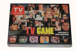 VTG 1984 TV GUIDE Family Board Game NIB NEW Sealed Over 6000 Trivia Ques... - $24.99
