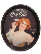 Coca-Cola Commemorative Tray 75th Anniversary Coca-Cola Bottling Works T... - $4.95