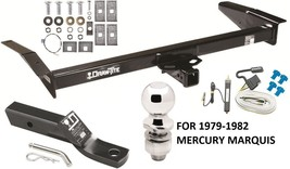 1979-1982 MERCURY MARQUIS COMPLETE TRAILER HITCH PACKAGE W/ WIRING KIT B... - $235.11