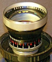 Carl Zeiss Pro-Tessar Lens f=85mm with fitted Zeiss Ikon Case AA-192032 Vintage image 5