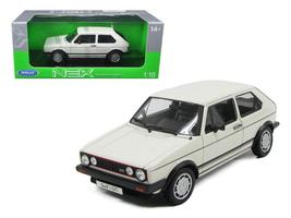 1983 Volkswagen Golf 1 GTI White 1:18 Diecast Model Car by Welly - $71.41