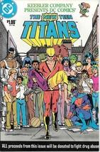 The New Teen Titans Comic Book Keebler Drug Abuse DC 1983 VFN/NEAR MINT ... - $5.48