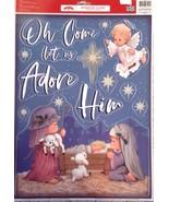 Vinyl Static Window Clings Christmas Children As Mary Joseph Baby Jesus ... - $8.42