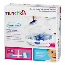 Newborn Baby Bottle Microwave Sterilizer by Munchin Fits 4 Bottles 9 OZ BRANDNEW - $27.46