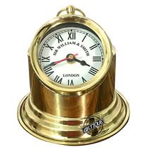 Christmas Beautiful Time Watch/Clock Bedroom/Bedside Clocks Victorian Scope Gimb - $36.96