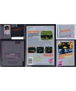 ORIGINAL Vintage 1987 Nintendo NES Metroid 5 Screw Cartridge w/ box + ma... - $924.90