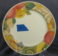 Mikasa Orchard Odyssey CAB04 Dinner Plate Stoneware Fruit Mild Crazing - $17.95