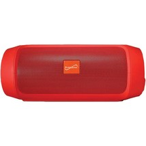 Supersonic 7-inch Portable Bluetooth Rechargeable Speaker (red) SSCSC231... - $57.61 CAD