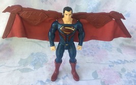 Superman Figure Mattel 2016 #1186 MJ,1,NL Movable Wings And Voice Settin... - $16.70