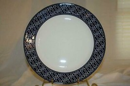 Lenox 2019 Party Link Blue Dinner Plate NEW - $22.86