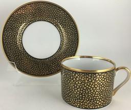 Fitz & Floyd Shagreen Cup & saucer - $20.00
