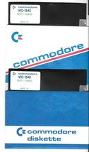 """(x2) VIC-1541 Test/Demo Commodore 64 C64 Software 5.25"""" Disk  - $12.82"""