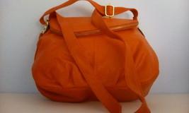 Rosette orange lady purse four compartments. - $29.70