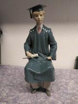 Lladro Figurine 5198 ln box Boy Graduate - $138.46