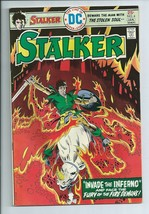 The Stalker #4 Original DC Comic Book form 1975 Fury of the Fire Demons - $2.72