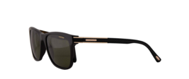 New Chopard Sunglasses SCH 218 700P 54MM Black / Green  For Men Frame  - $188.09