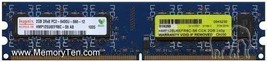 Hynix 2GB PC2-6400U DDR2 Memory Module HMP125U6EFR8C-S6 - $14.36