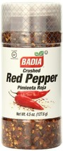Badia Red Pepper Crushed, 4.5 Ounce Pack of 12