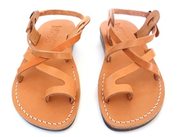 Leather Sandals for Men and Women TEL AVIV by SANDALIM Biblical Greek Su... - $39.83 CAD+