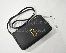 NWT MARC By Marc Jacobs M0010237 Noho Leather Small Shoulder Bag in Black - $239.00