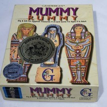 VTG Mummy Rummy Card Game Gamewright 1994 Dig Sift For Egyptian Treasure... - $8.50