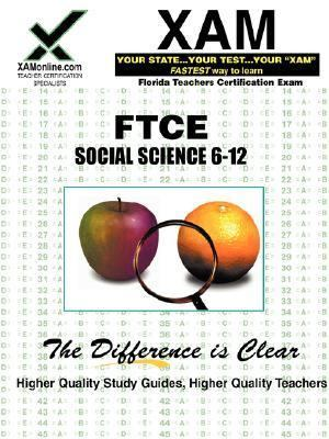 Primary image for *NEW* FTCE SOCIAL SCIENCE 6-12 XAM FLORIDA TEACHERS CERTIFICATION EXAM